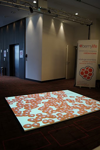 Interactive Floor Projection By 24 7 Media