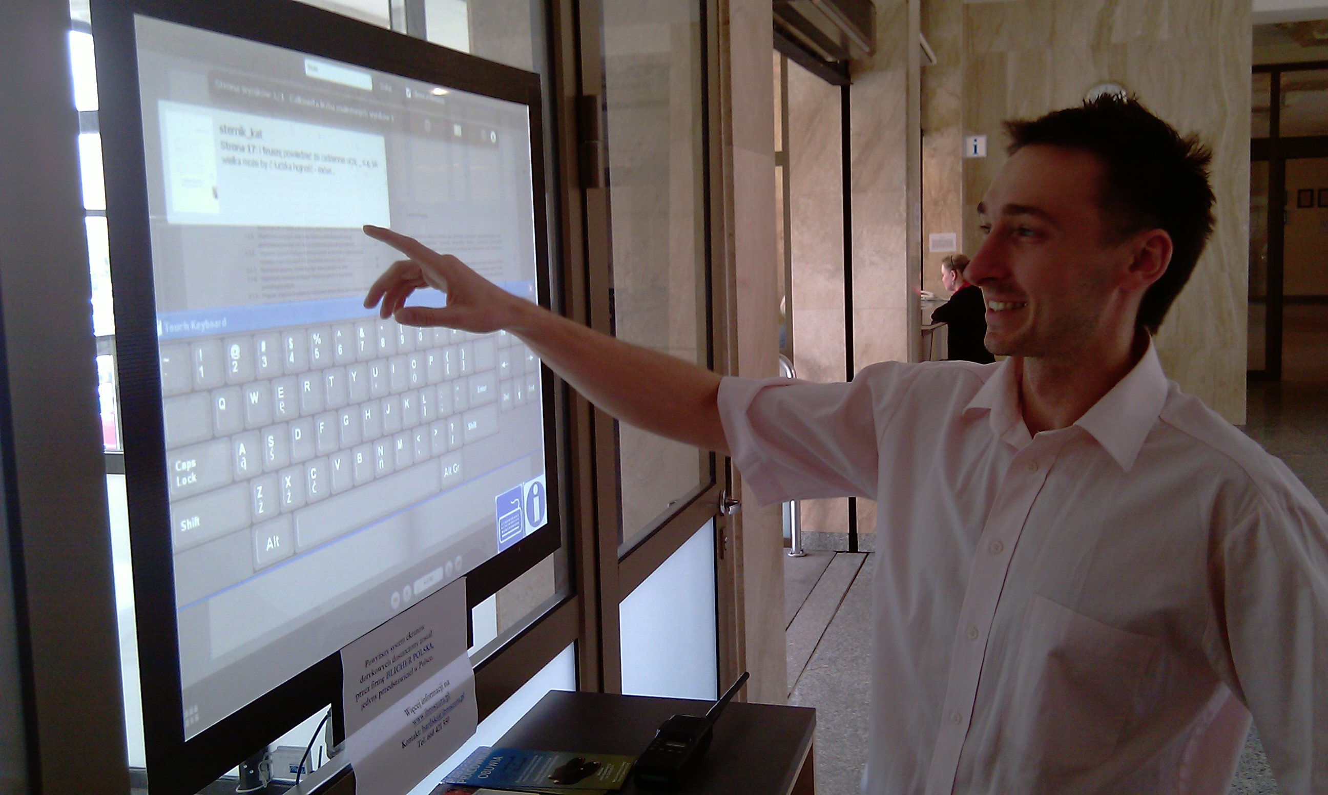 Interactive Touch Window